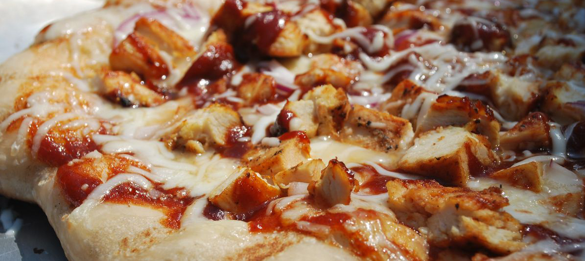 tuesday s pizza would definitely be bbq pizza with chicken bacon red ...